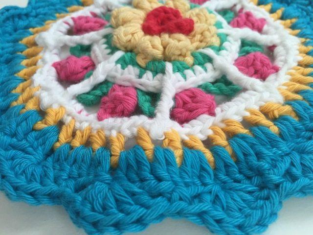 Crochet Mandala by Threadwinder
