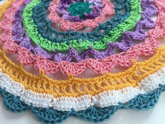 Threadwinder's Crochet Mandala For Marinke
