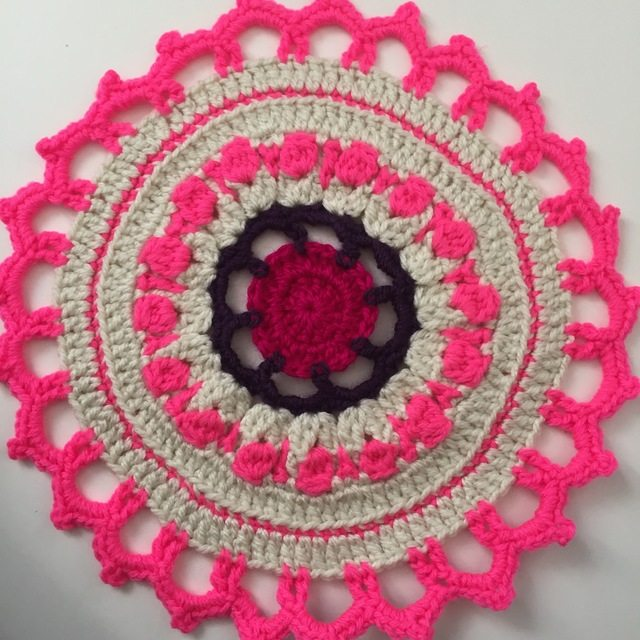 Ana's Crochet Contribution to Mandalas for Marinke