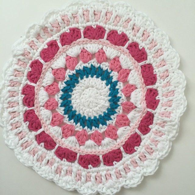Sarah's Crochet Mandala from the UK for Wink