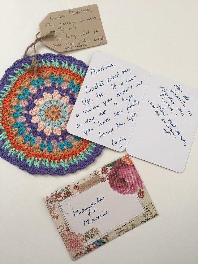 Corine's Crochet MandalasforMarinke