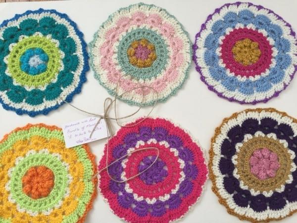 Crochet Mandalas by RubyJanesLane