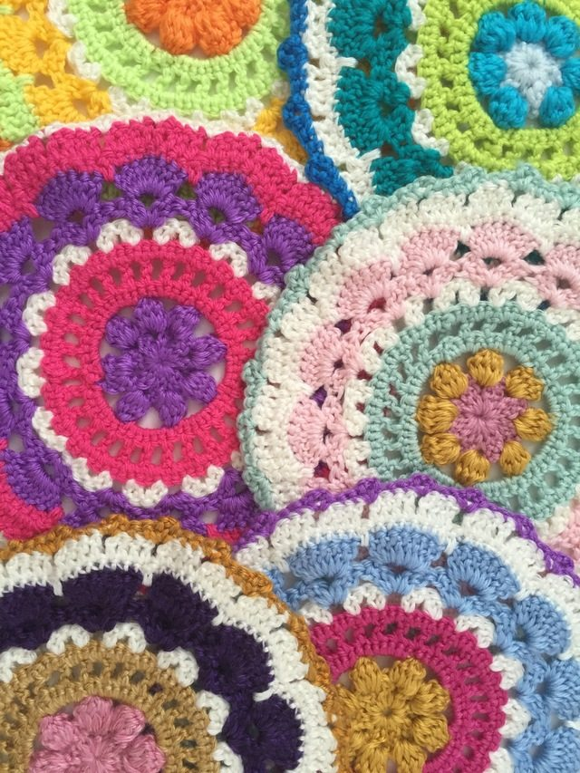 Ruby Jane's Lane Crochet Mandalas for Marinke