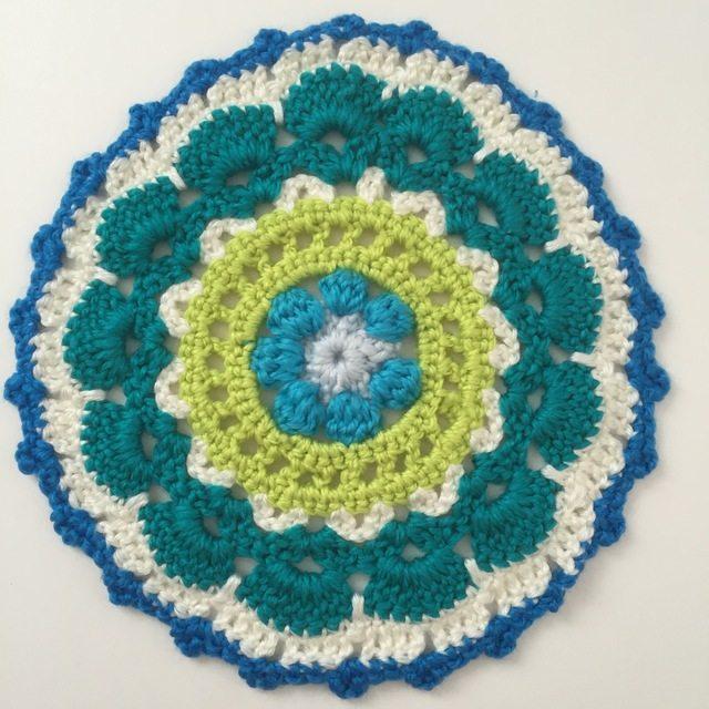 Crochet Mandala by RubyJanesLane
