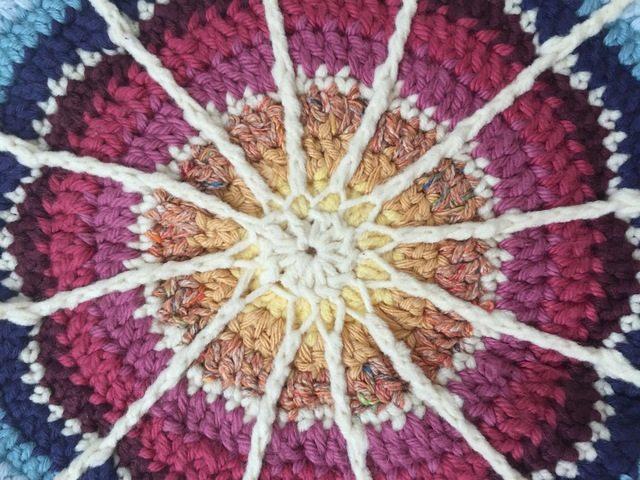 Crochet Mandala by Amy for Wink