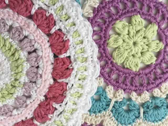 crochet mandalas for wink by jenny