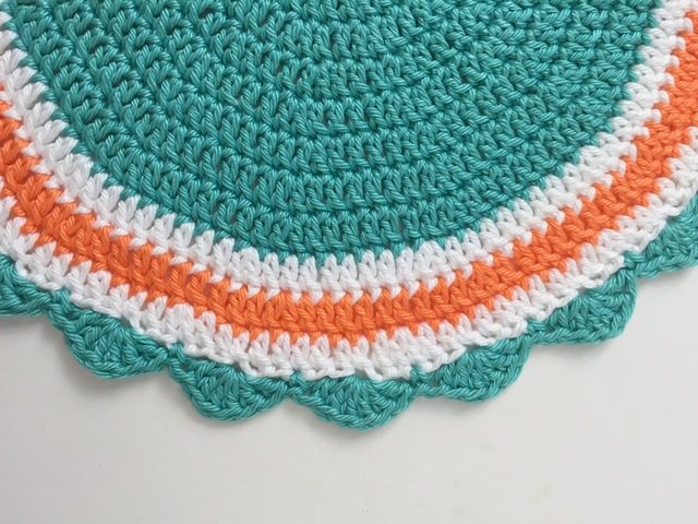 crochet mandala for marinke by linda