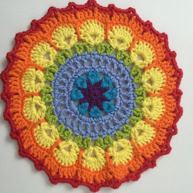 Kathleen's Rainbow Crochet MandalasForMarinke
