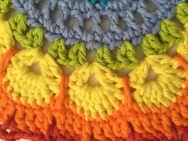 Kathleen's Crochet Rainbow Mandala