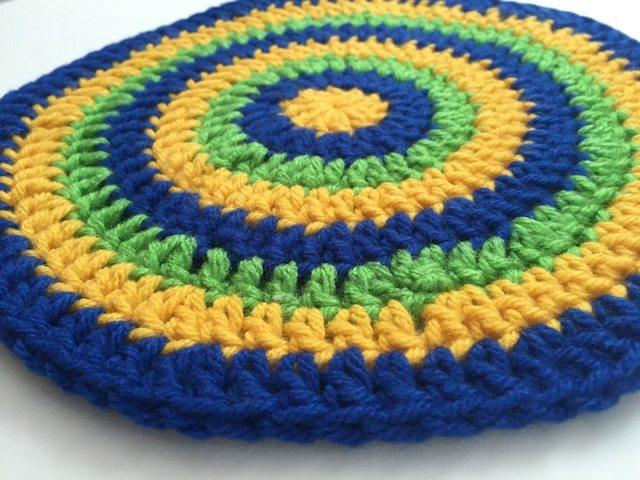 susan r's crochet mandala