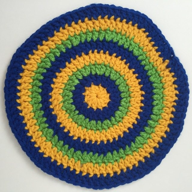 crochet mandala for susan r.