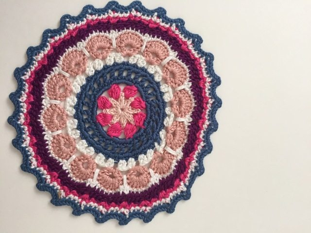 Athena Sent  This Crochet MandalasforMarinke