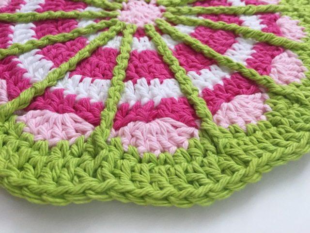 Spoke Crochet Mandala by Grace W.