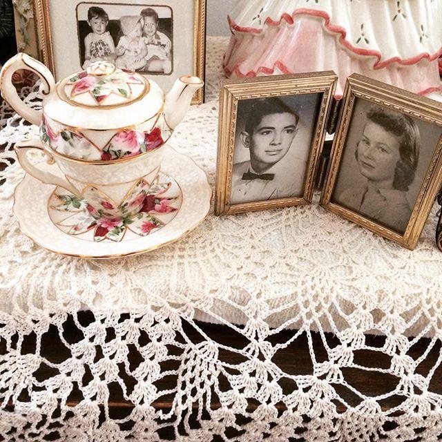 joyfuljaxcrochets.and.knits vintage crochet tabletopper