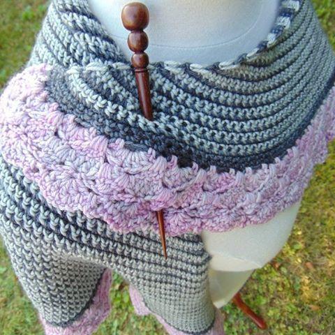 julie_accrochet crochet shawl pattern