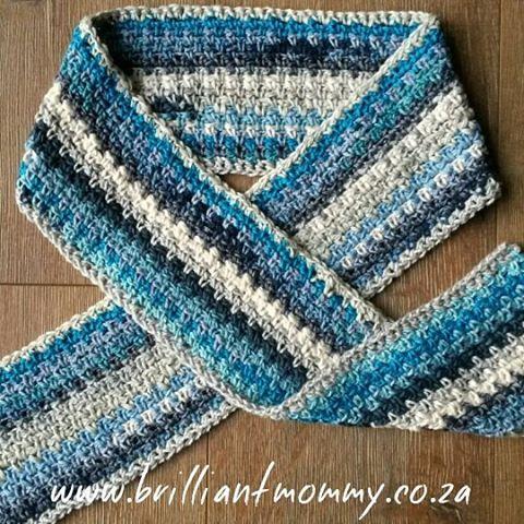 jysoulikmamma_brilliantmommy crochet happy scarf