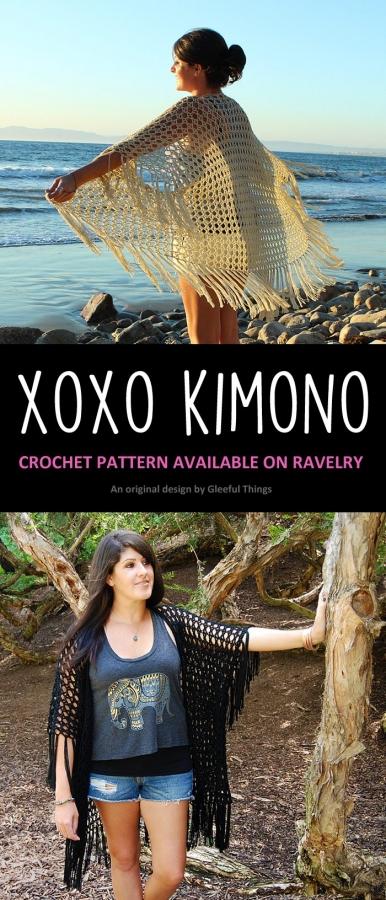 kimono crochet pattern