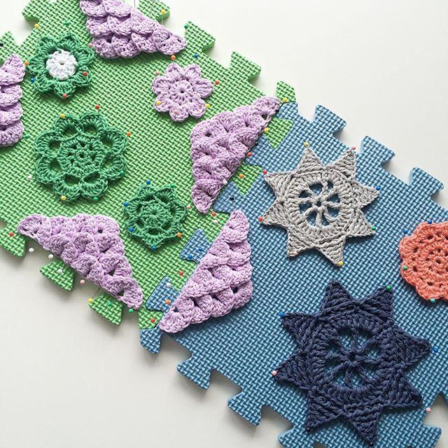 knitpurlhook crochet blocking