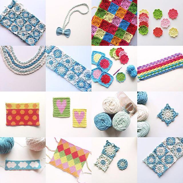 knitpurlhook crochet collage