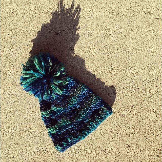 knot_katy crochet pom hat