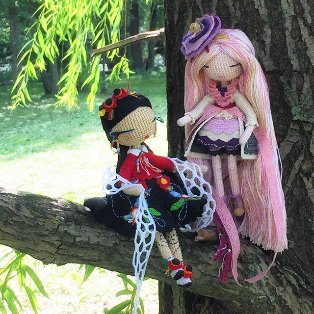 kukukolki art crochet dolls