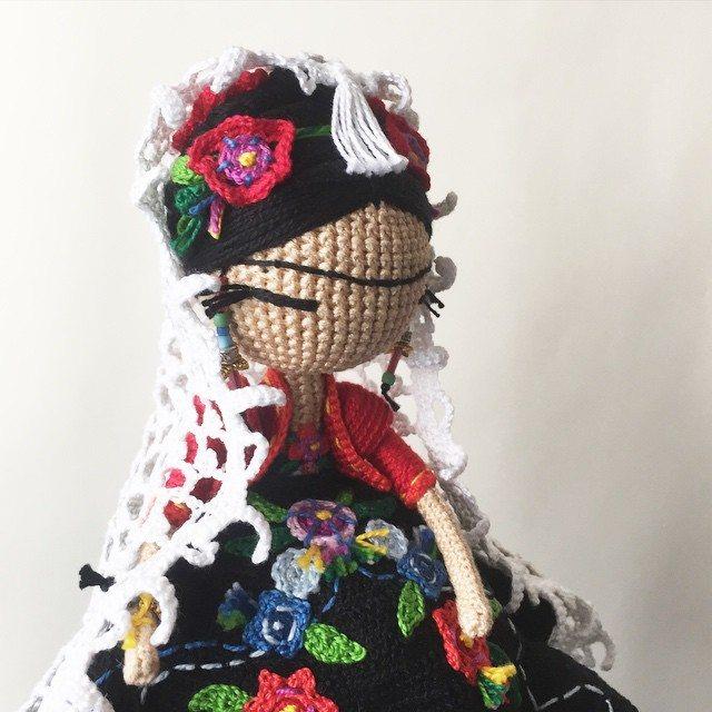 kukukolki crochet doll art