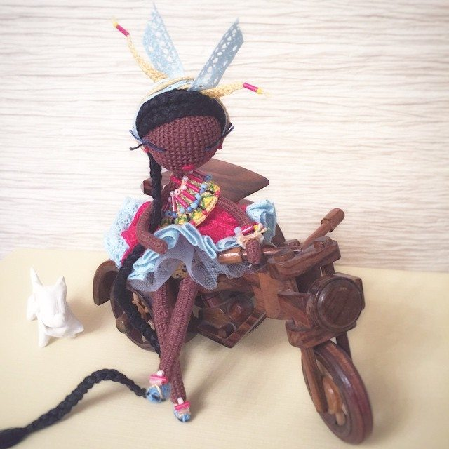 kukukolki crochet doll