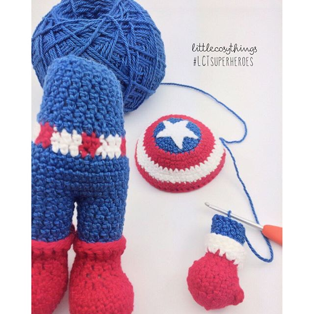 littlecosythings crochet superhero wip