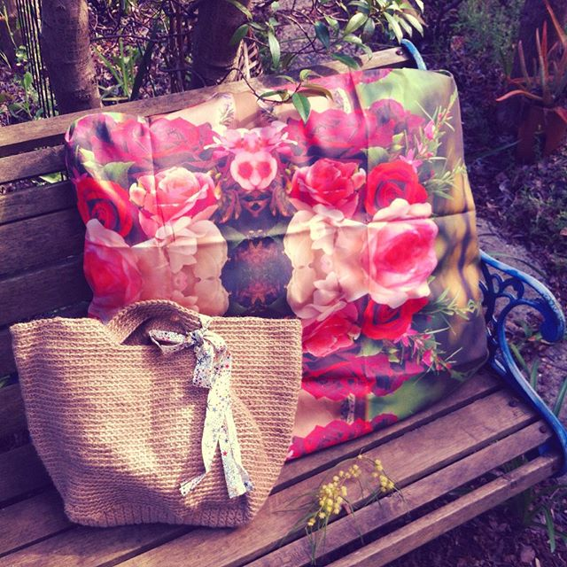 lyndapc crochet twine purse