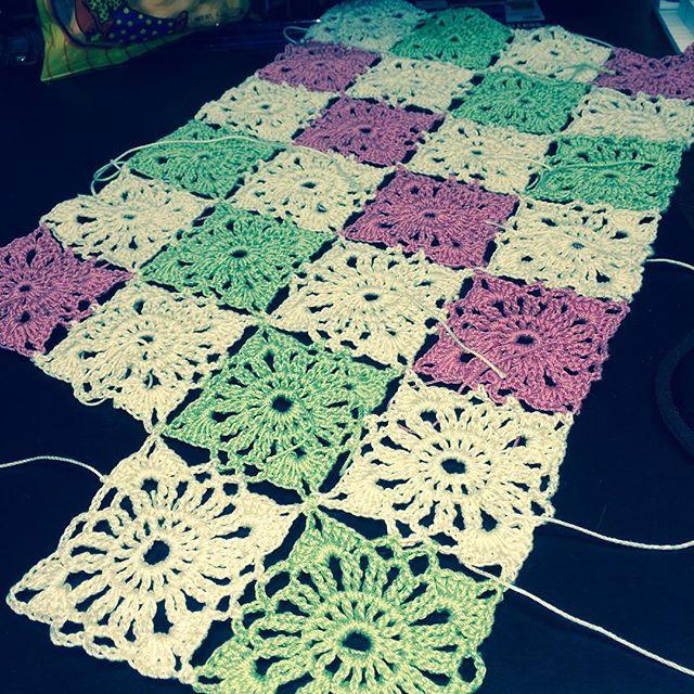 maddylopez324 thread crochet squares