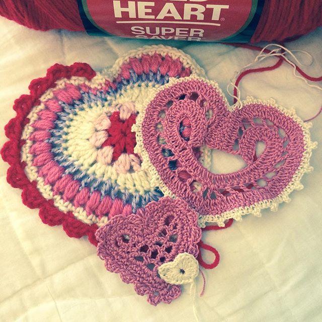 maddylopez3324 crochet memory hearts