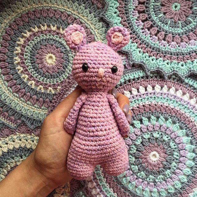 maritparit crochet mouse