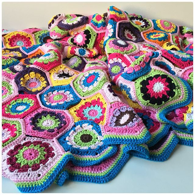 marretjeroos crochet favorite colorful blanket