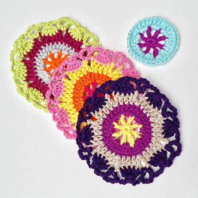 marretjeroos crochet mandalas