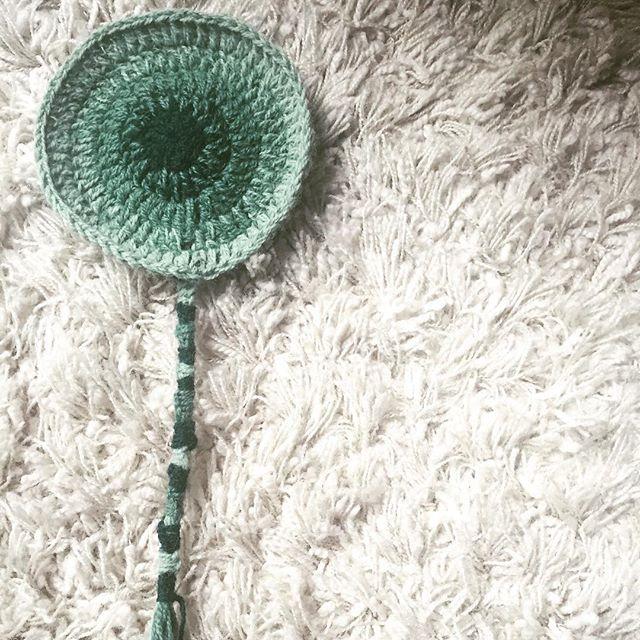 mini mandala crochet vercillo green