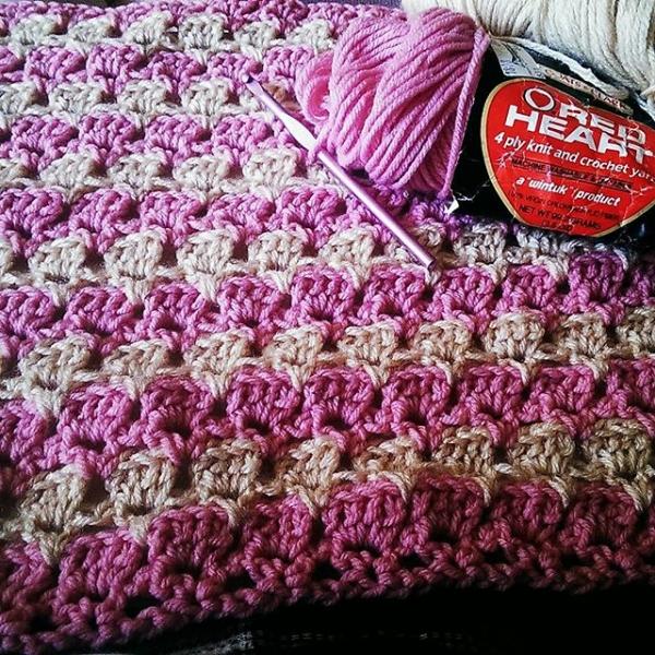 mlissabethgr crochet baby blanket