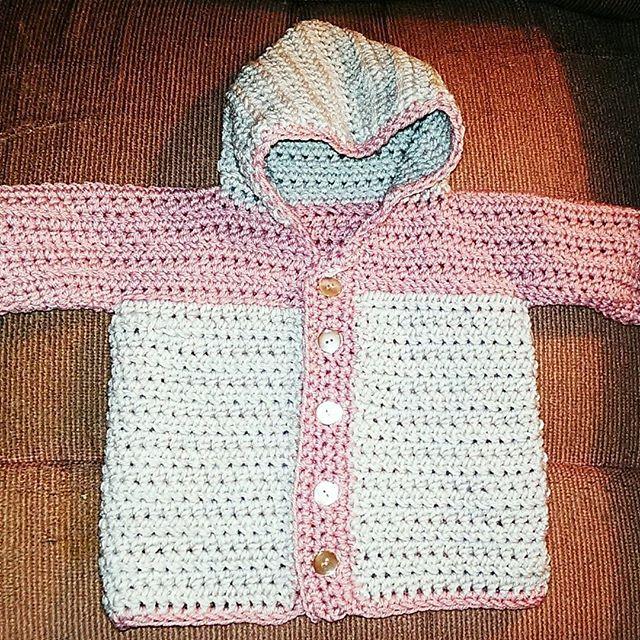 mlissabethgr crochet baby sweater