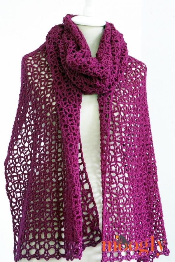 moogly crochet wrap free pattern