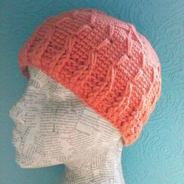 mrsdaftspaniel crochet cable hat