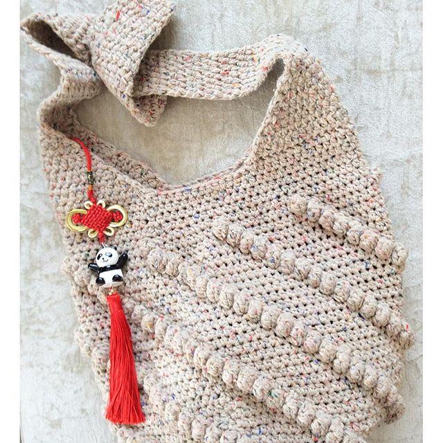 nesimerciger crochet bag