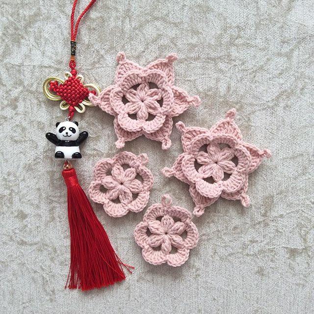 nesimerciger crochet flowers