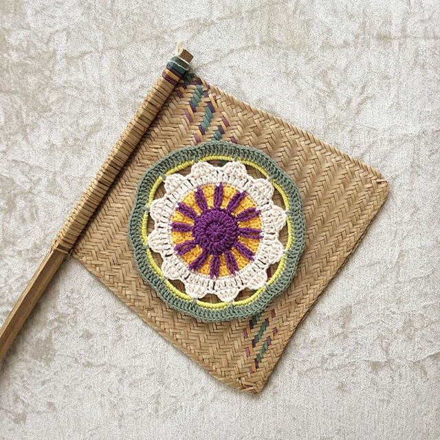 nesimerciger crochet mandala art