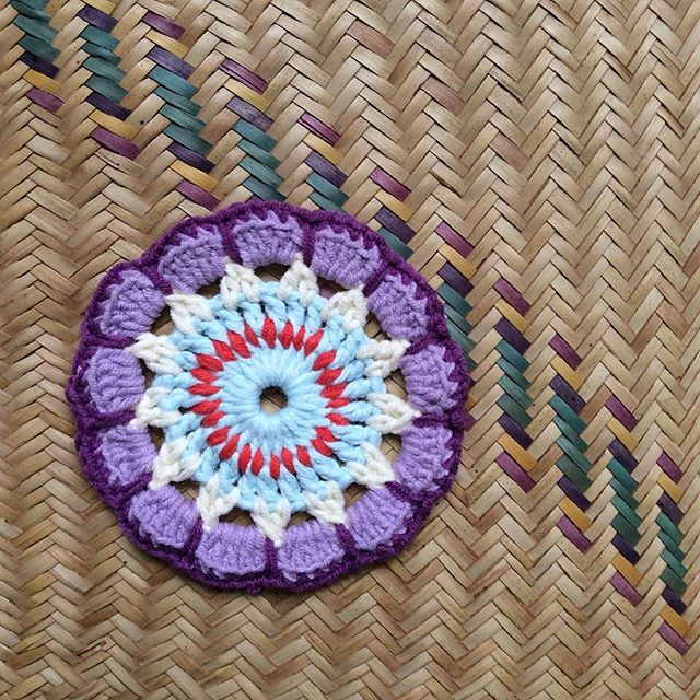 nesimerciger crochet mandala circle