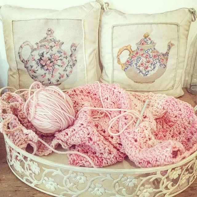 nickymirandacrochet pink crochet