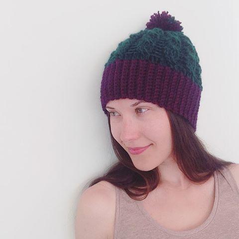 oksanamitsyak crochet cable hat