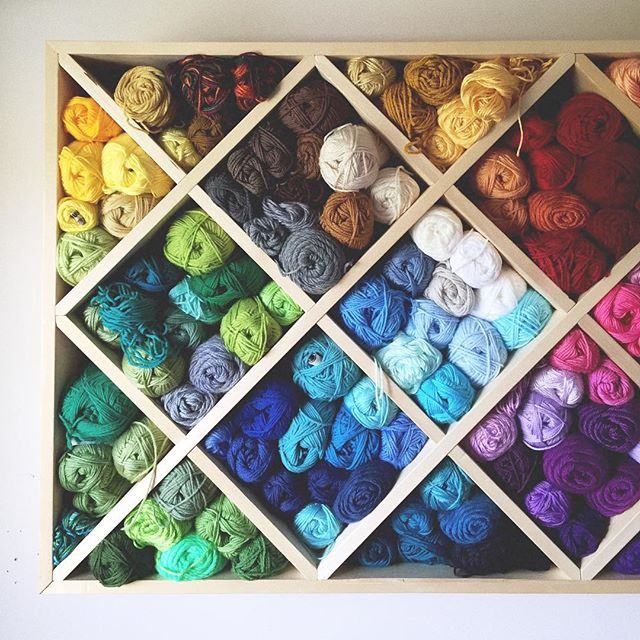 olivesnadpickles yarn storage