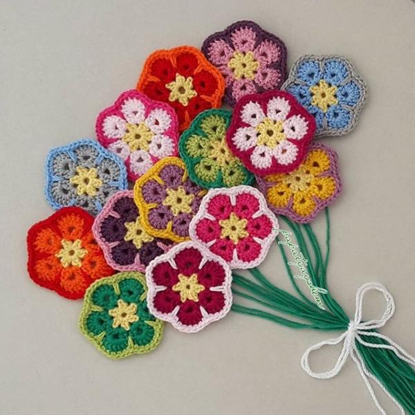 Fleurs au crochet pour inspirer votre artisanat et ...