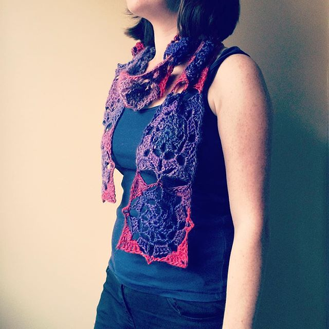 patternpiper crochet scarf from insidecrochet