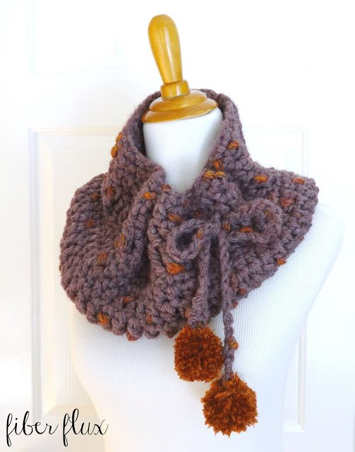 plum skies cowl crochet pattern