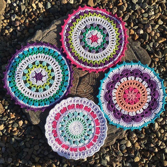 prochetbyeas crochet mandalas